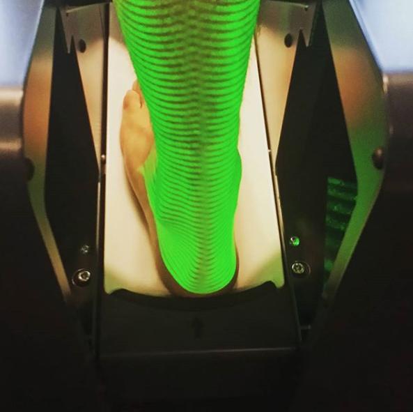 EXO-L enkelbrace 3D scan