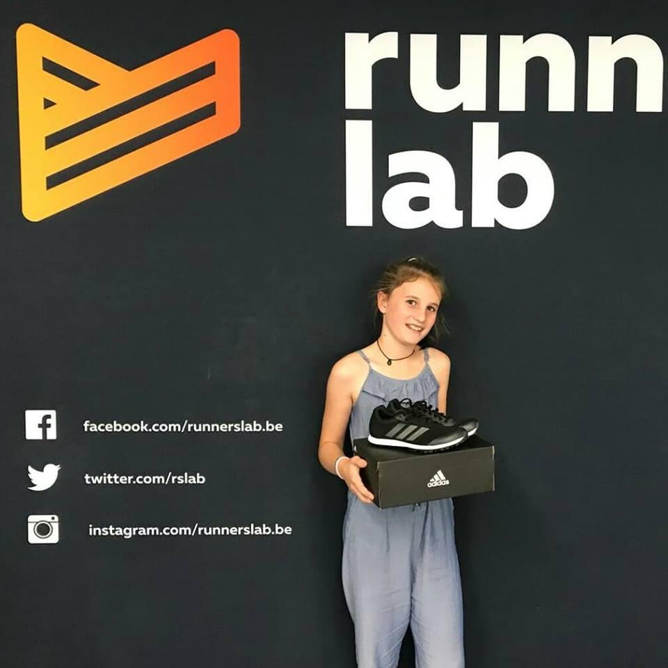 Runners-lab-kleurwedstrijd-loopschoenen-spikes-winnen-kids