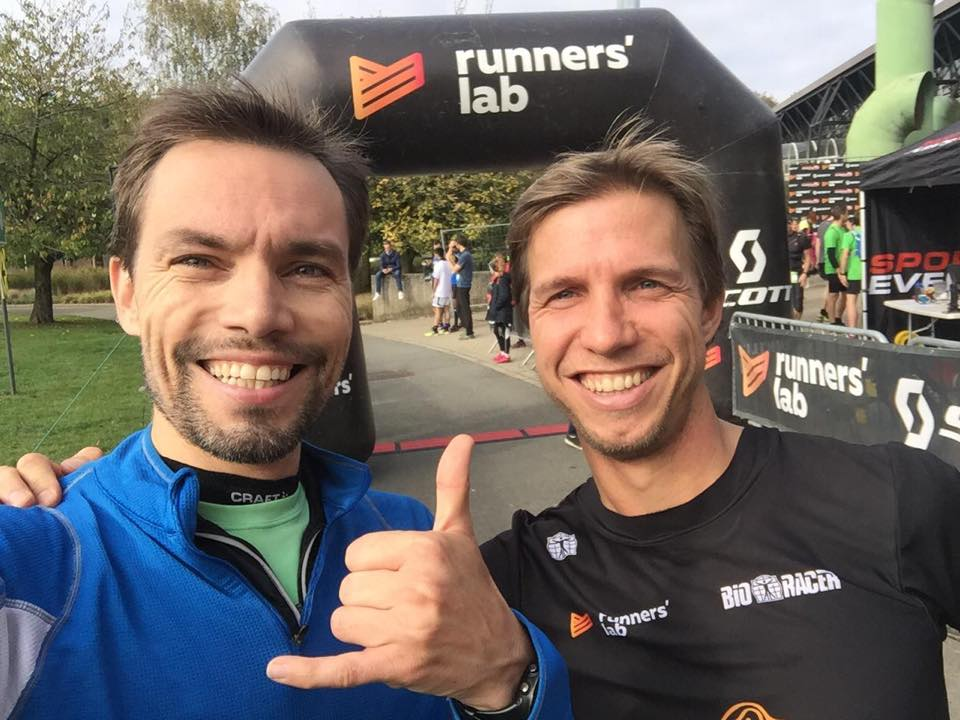 Team Runners' lab run Transalpine run 2019 - Koen en Krijn